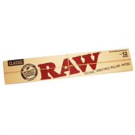 RAW Classic 12″ Papers Rolling Papers