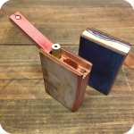 Short Handmade Natural Wooden Slide Top Dugout