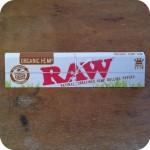 RAW king sized Organic Hemp Rolling Papers