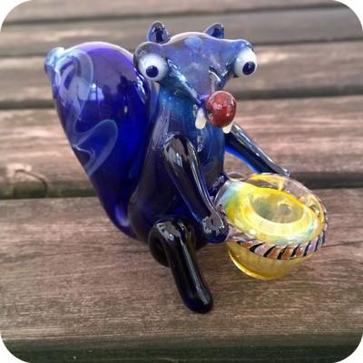 Scrat Squirrel Glass Pipe