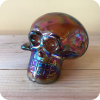 Iridescent Skull Pipe