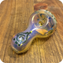 Day of the Dead Candy Skull Glass Pipe