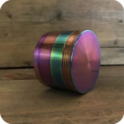 Large Rainbow Zinc Grinder