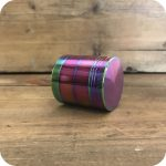 Small Rainbow Zinc Grinder
