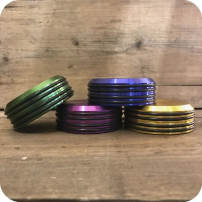 Slim Rubber Metallic Grinder