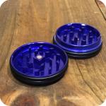 Mini Slim Rubber Metallic Grinder