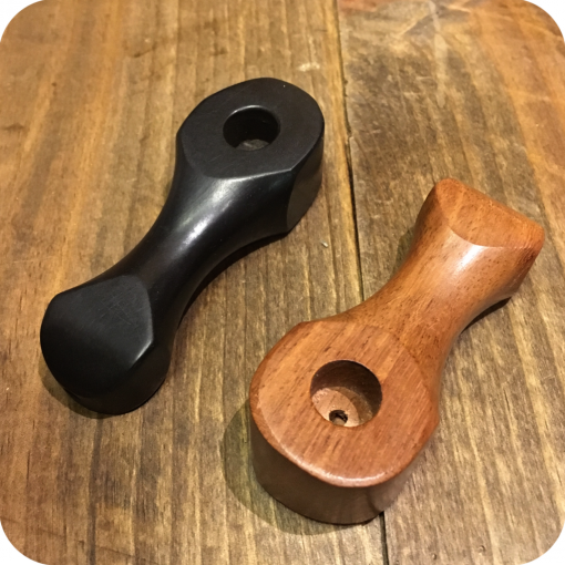 Beveled Wooden Pipe