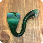 Inside Out Frit Glasswork Sherlock Pipe