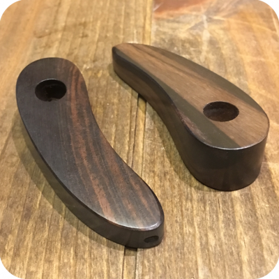 Crescent Wooden Pipe