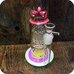 Candy Colored Rings Water Pipe