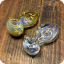 Horizontal Bubble Glass Pipe