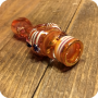 Orange Striped Chillum