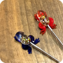 Glass Character Metal Poker