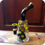 Colorful Honeycomb Pattern Water Pipe