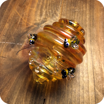 Beehive Glass Pipe