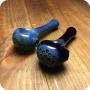 Slim Marble Blue Spoon