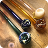 Colorful Glass Gandalf Pipes