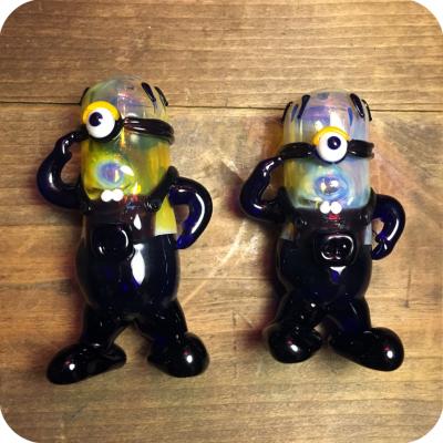 Yellow One Eyed Cartoon Character