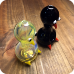 Penguin Spoon Shaped Pipe