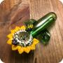Sunflower Stalk Glass pipe