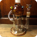 Two Piece Honey Bee Water Pipe