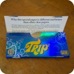 trip Transparent Rolling Papers
