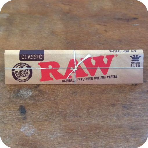 RAW Classic King Size Hemp Rolling Papers
