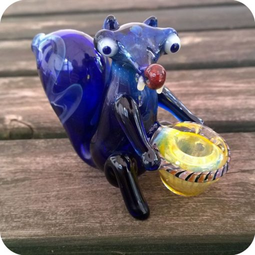 Scrat Squirrel Glass Pipe