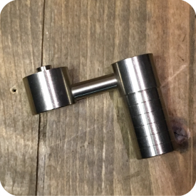 14' - 18' mm Male Titanium Sidearm Domeless Nail