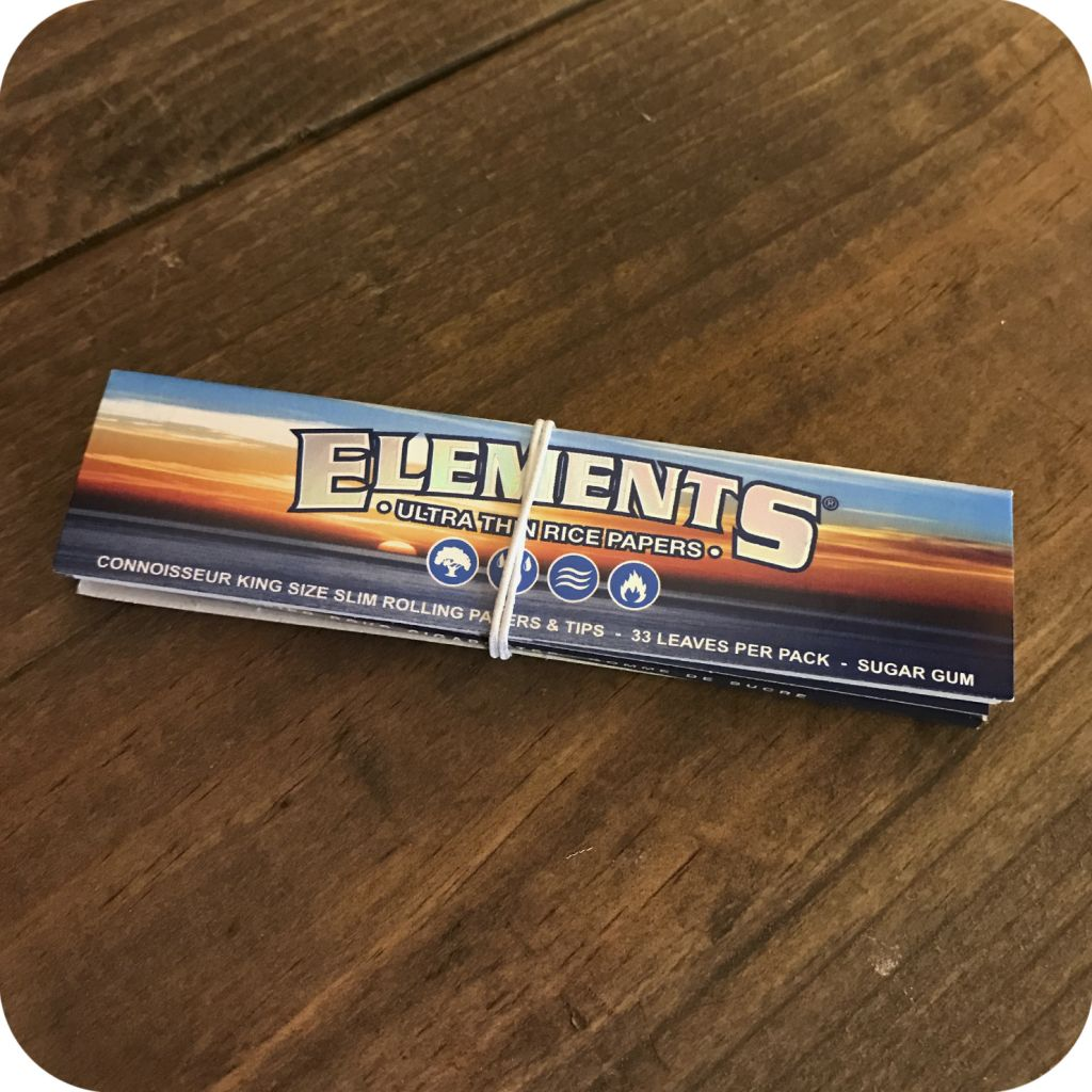 Elements King Size Connoisseur Rolling Papers