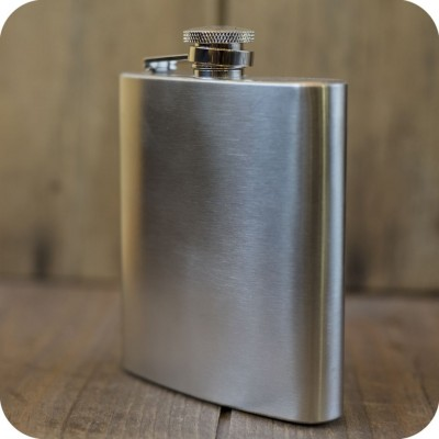 large stainless steel flasks