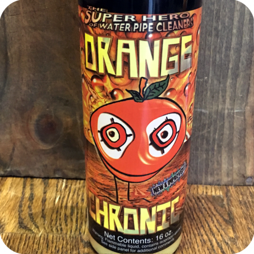 Orange Chronic Pipe Cleaner Fluid