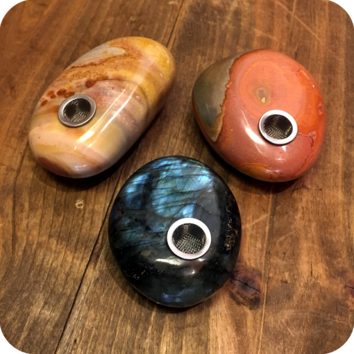 Rounded Crystal Pipes