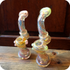 Colorfully Tipped Spiral Bubblers