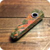 Unakite Crystal Pipe