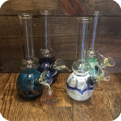 Small Colorful Rounded Water Pipe